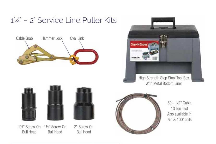 Service Line Puller Kit Tools